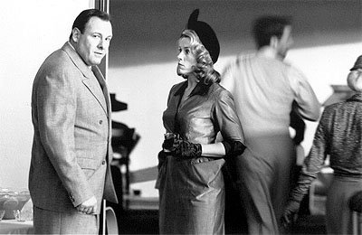 James Gandolfini and Frances McDormand in USA Films' The Man Who Wasn't There