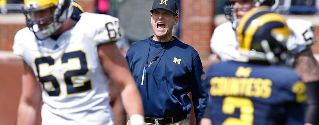 Walk down memory lane for Harbaugh in Michigan