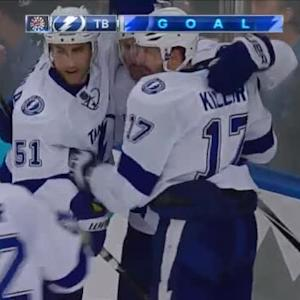Alex Killorn Goal on Henrik Lundqvist (01:54/3rd)