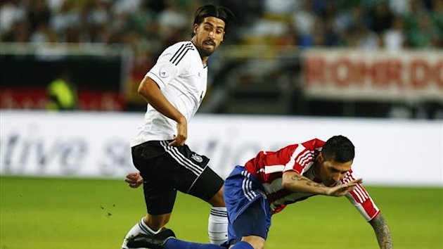 Sami Khedira in action for Germany (Reuters)