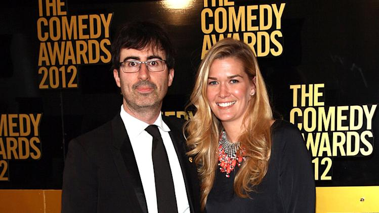 John Oliver and Kate Norley