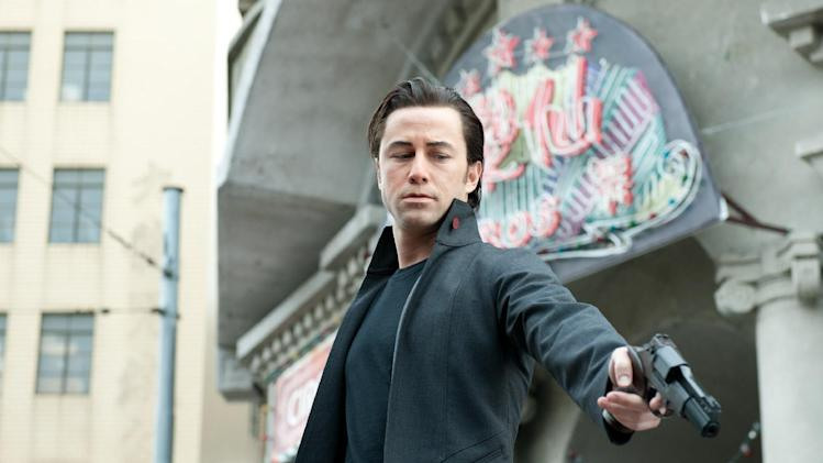 "This film image released by Sony Pictures shows Joseph Gordon-Levitt in a scene from the action thriller ""Looper."" (AP Photo/Sony Pictures Entertainment)"