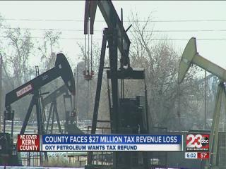 Oxy Petroleum asks for tax refund, county loses tax revenue