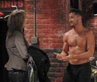 Valentin Chmerkovskiy and Nancy Lee Grahn on &#39;General Hospital,&#39; 2012  -- ABC
