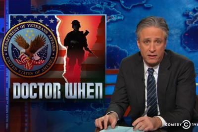 Jon Stewart blasted the VA for limiting veteran care. The VA changed a rule the next day.