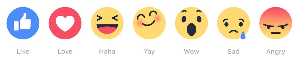 There is a specific sociological reason why Facebook introduced its new emoji 'reactions'