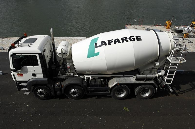 Cement makers Holcim and Lafarge win U.S. antitrust approval to merge
