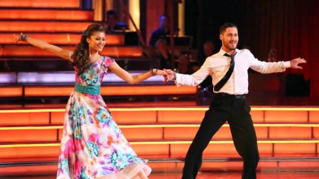 Zendaya and professional partner Valentin Chmerkovksiy on 'Dancing with the Stars'on May 7, 2013 -- ABC