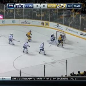 Viktor Fasth Save on James Neal (10:20/3rd)