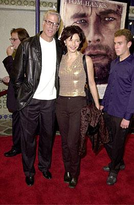 Ted Danson , Mary Steenburgen and Ted's son Charles at the Westwood premiere of 20th Century Fox's Cast Away