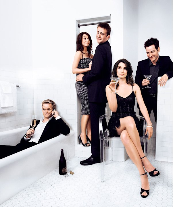 The cast of How I Met Your Mother.