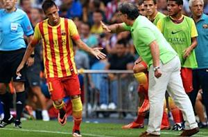 Martino delighted with Neymar impact