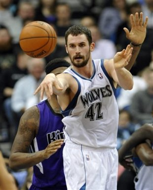 Kevin Love could return sooner than T'wolves expect from broken hand suffered doing pushups