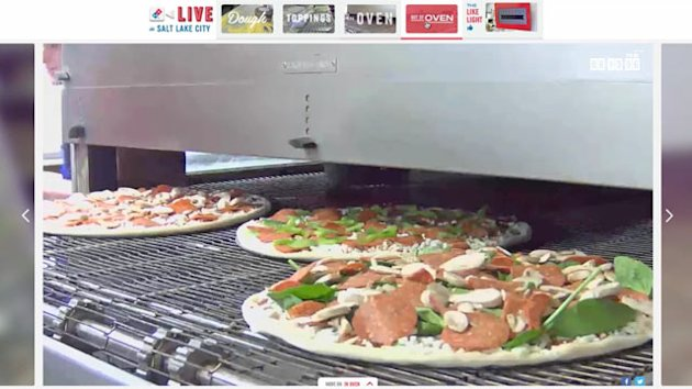 Domino's Live-Streams Pizza Making (ABC News)