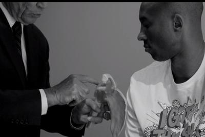 Did Kobe Bryant really post a video of his doctor's appointment?