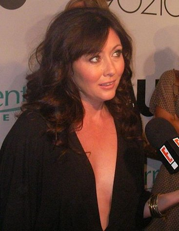Actress Shannen Doherty is a proud Republican.