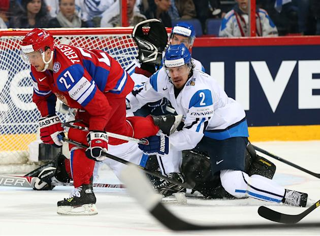 Russia v Finland - 2013 IIHF Ice Hockey World Championship