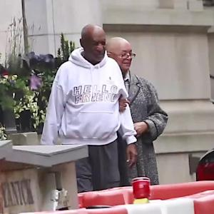 Bill Cosby Spotted Out For First Time in Months, Wife Camille Smiles at His Side