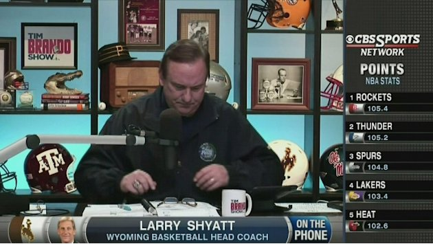 Larry Shyatt talks Wyoming …