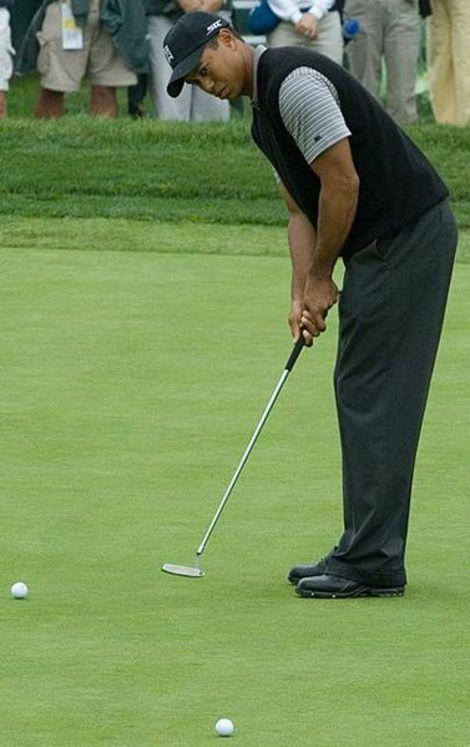 Tiger Woods hurt his foot on Sunday and had to withdraw.