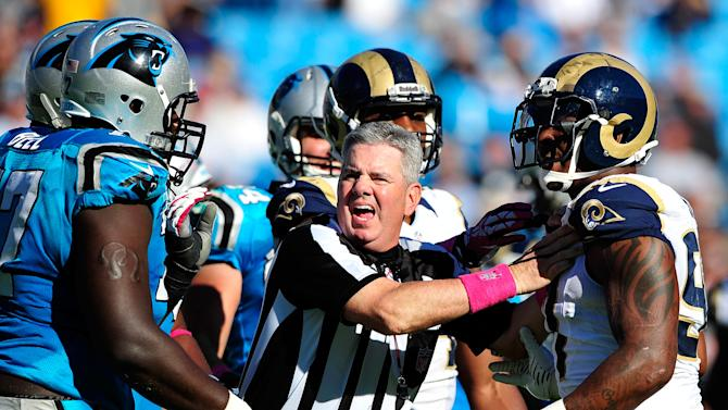 St Louis Rams v Carolina Panthers