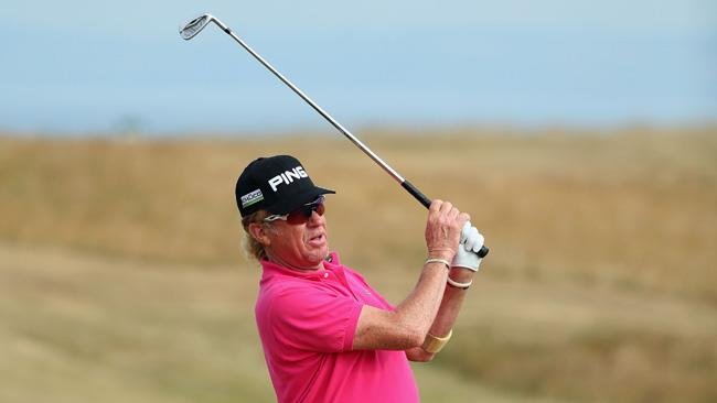 Miguel Angel Jimenez off to another fast start at Open Championship