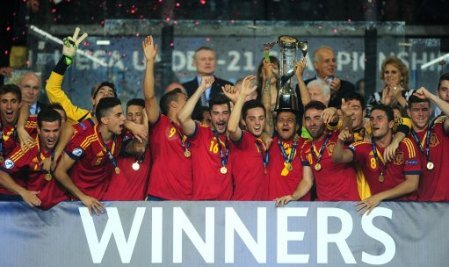 Soccer - UEFA European Under 21 Championship 2013 - Final - Italy v Spain - Teddy Stadium