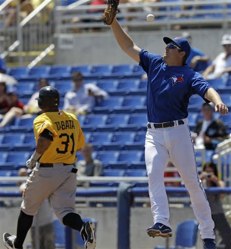 Pirates cool off Blue Jays 3-1