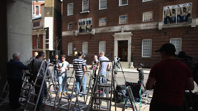 The Lindo Wing At St Mary's Hospital Where The Duchess Of Cambridge Will Give Birth
