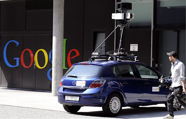 FILE - In this Aug. 18, 2009 file picture a Google Street View car stands at the company's  office in Zurich Switzerland. Switzerland's supreme court has ruled that Google doesn't need to be perfect w