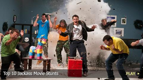 Top 10 Jackass Movie Stunts
