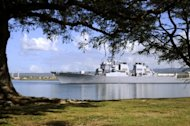 File photo shows a United States Navy ship departing the Naval Station in Pearl Harbor, Hawaii. The Obama administration has pledged a new focus on Asia, including shifting the bulk of the US Navy to the Pacific, as it sees a vital interest in a US role in shaping the future of the fast-growing and often turbulent region