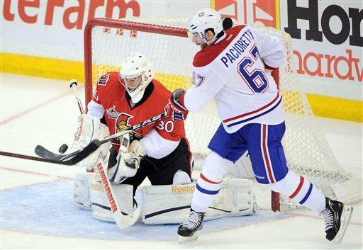 Kuba leads Senators past Canadiens 2-1 in OT