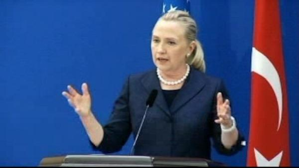 Hillary Clinton hospitalized with blood clot
