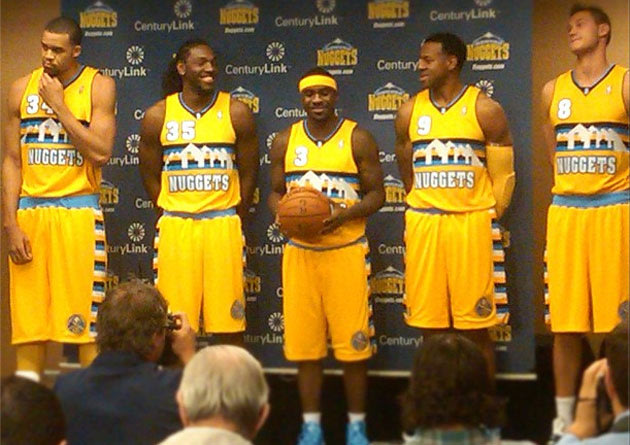> Denver Nuggets reveal new alternate jerseys (pics) - Photo posted in BX SportsCenter | Sign in and leave a comment below!