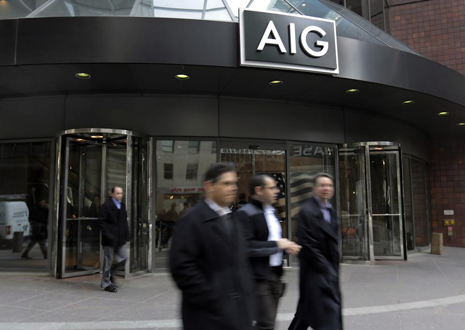 Facing backlash, AIG won't join lawsuit against US