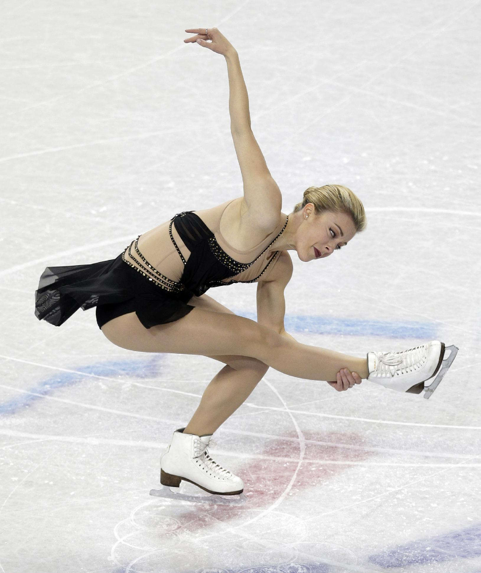 Ashley Wagner wins short program at US Championships