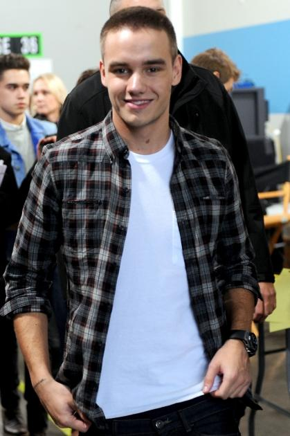 Liam Payne of One Direction backstage at FOX's 'The X Factor' Season 2 Top 13 to 12 Live Elimination Show in Hollywood, Calif. on November 8, 2012  -- Getty Premium