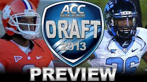 ACC RB's and WR's Draft Preview