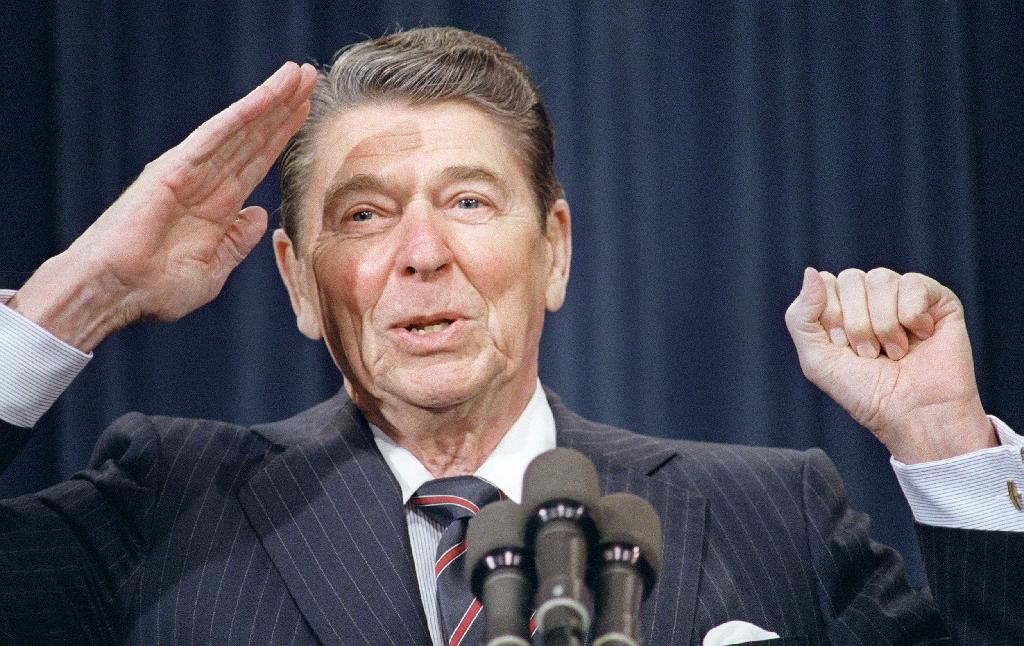 Reagan still Republicans' reference point for White House seekers
