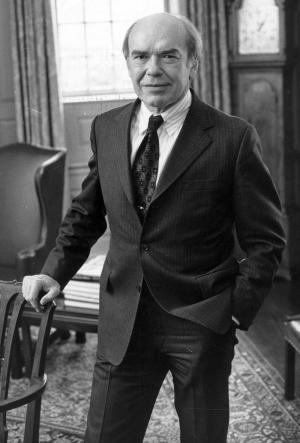 This undated photo released by Brown University shows former president Donald F. Hornig, who died Monday, Jan. 21, 2013. He was 92.  . Hornig  worked on the atomic bomb and was a scientific adviser to three U.S. presidents. (AP Photo/Brown University)