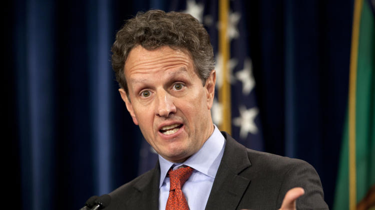 AP NewsBreak: Timothy Geithner planning book