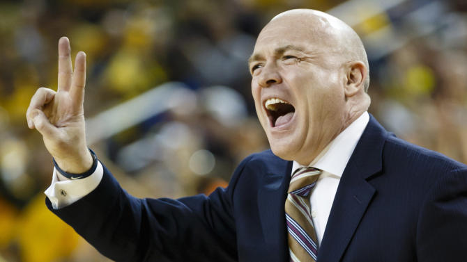 NCAA Basketball: Penn State at Michigan