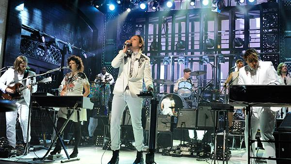 Arcade Fire Bring Tricks, Treats to Brooklyn Warehouse Show