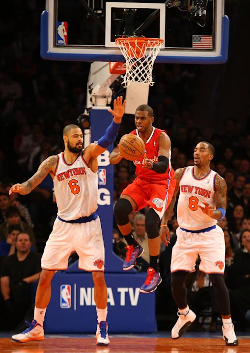 Los Angeles Clippers v New York Knicks