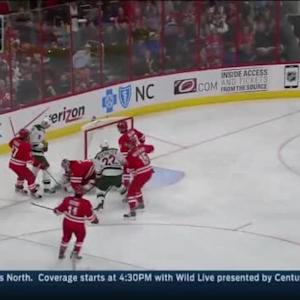 Anton Khudobin Save on Nino Niederreiter (03:52/2nd)