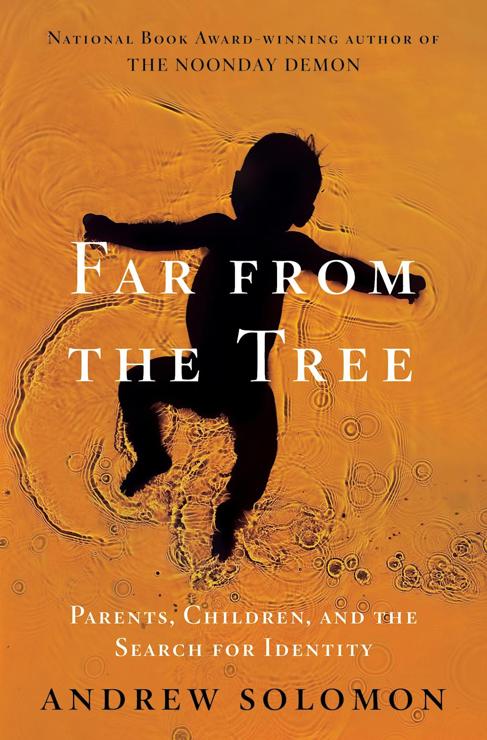 "This book cover image released by Scribner shows ""Far From the Tree: Parents, Children, and the Search for Identity,"" by Andrew Solomon. (AP Photo/Scribner)"