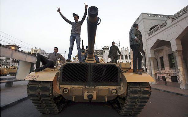 Egypt's Army Can Arrest Civilians Now