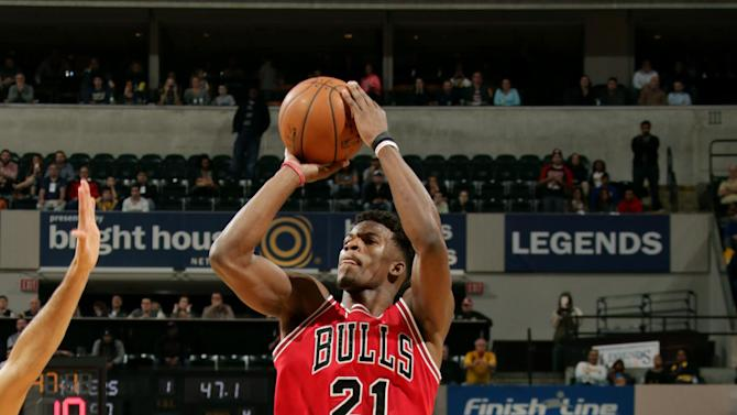 Butler lead Bulls over Pacers 92-90