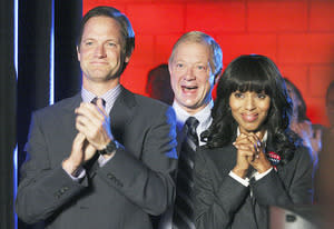 Matt Letscher, Jeff Perry and Kerry Washington | Photo Credits: Carol Kaelson/ABC via Getty Images